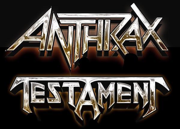 Anthrax e Testament no Brasil em 2013?