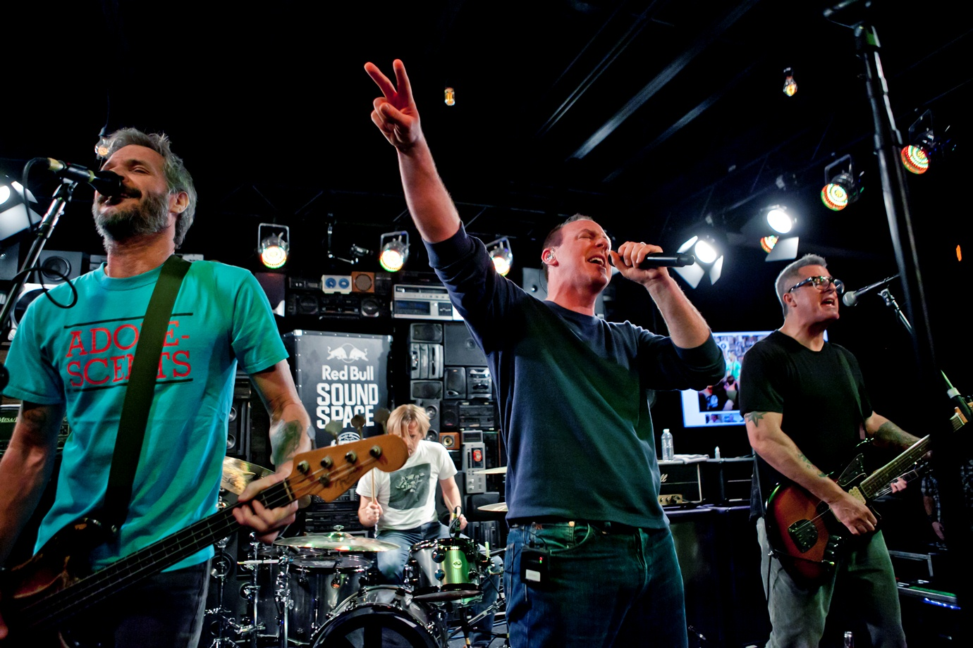 Bad Religion no The Red Bull Sound Space
