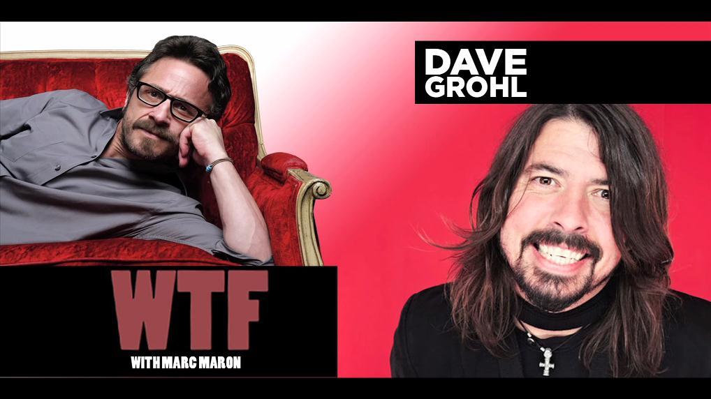 Dave Grohl participou do podcast WTF
