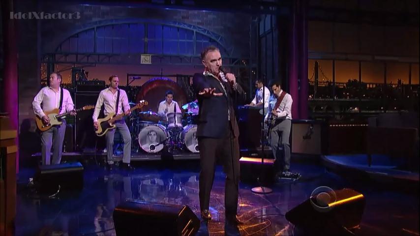 "Morrissey apresenta música ""nova"" na TV"