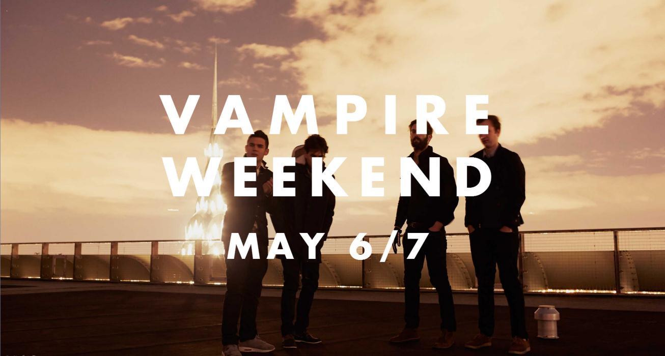 Vampire Weekend lança novo álbum em Maio
