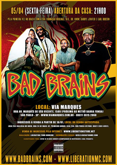 Bad Brains no Brasil