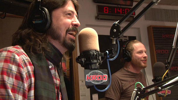 Dave Grohl e Corey Taylor