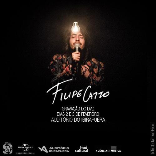 Filipe Catto grava DVD ao vivo