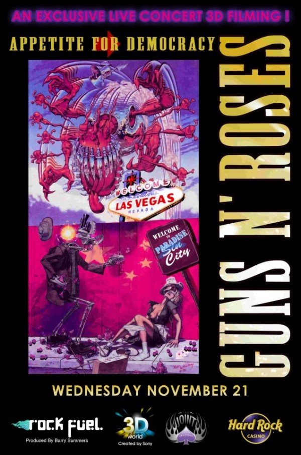 Guns N' Roses em 3D