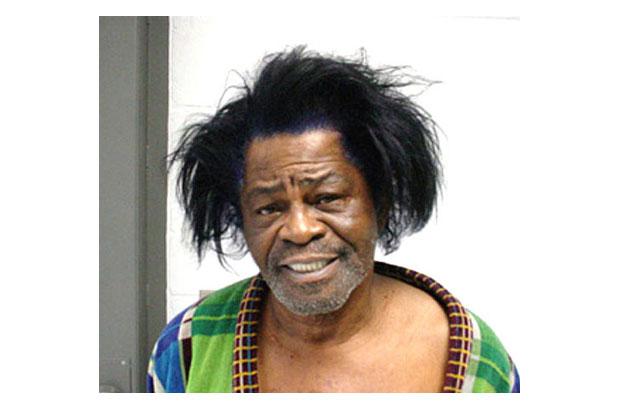 James Brown na prisão