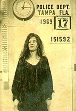 Janis Joplin na prisão