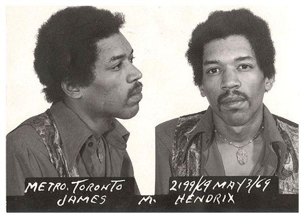 Jimi Hendrix na prisão