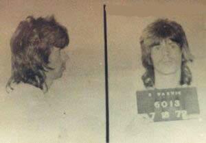 Keith Richards na prisão