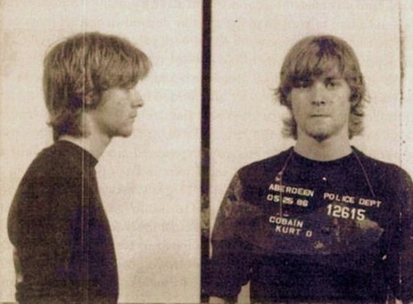 Kurt Cobain na prisão