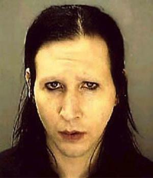 Marilyn Manson na prisão