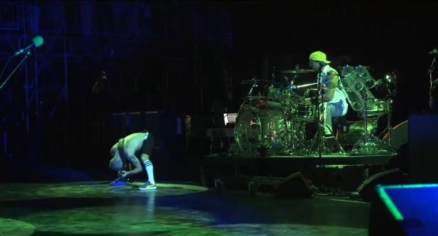 Red Hot Chili Peppers no Bonnaroo 2012