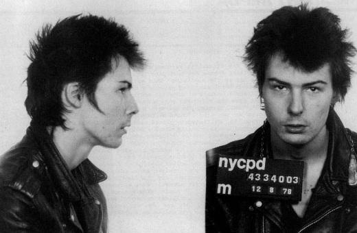 Sid Vicious na prisão
