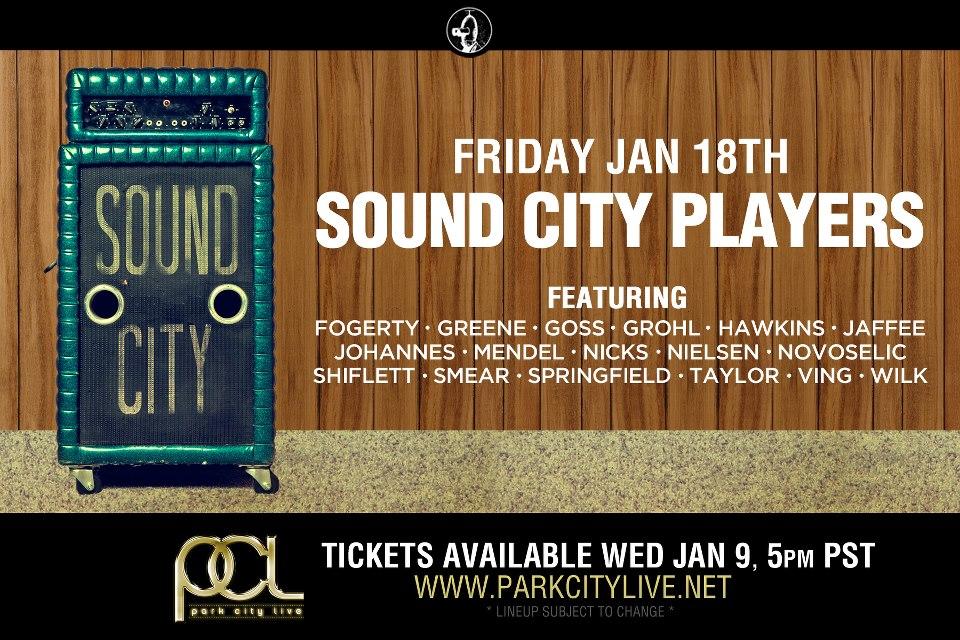 Sound City Players - line-up