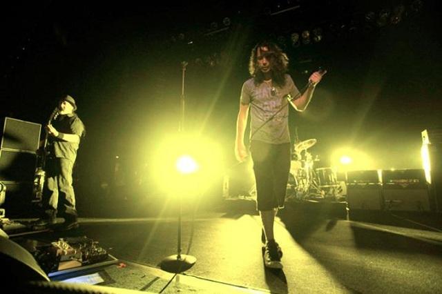 Chris Cornell com o Soundgarden