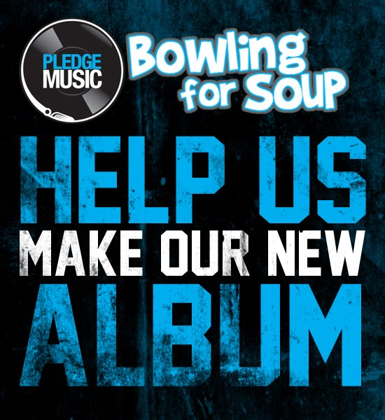 Bowling For Soup lança crowdfunding para gravar novo álbum