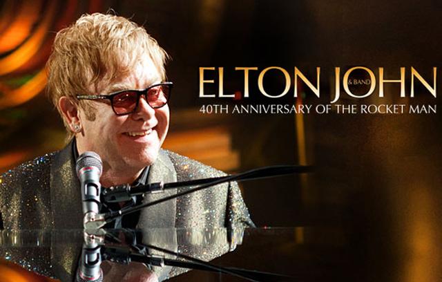 Elton John no Brasil
