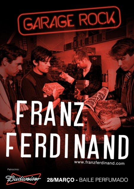 Franz Ferdinand no Recife