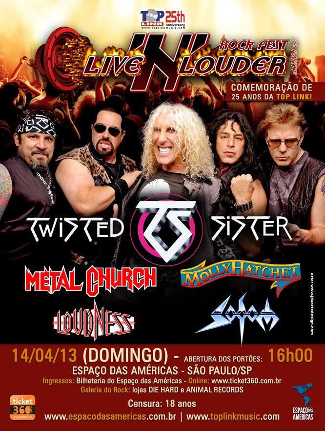 Live N' Louder divulga preços dos ingressos
