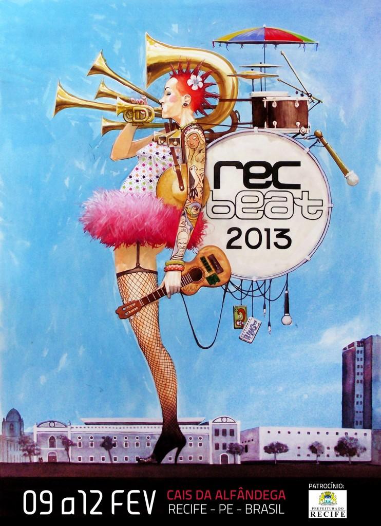 Rec-beat divulga programação da edição 2013