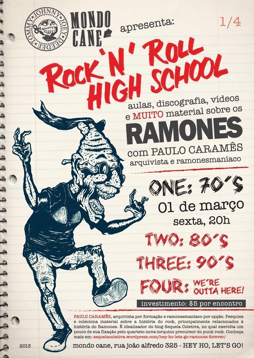 Rock'n'Roll High School: Uma aula sobre Ramones