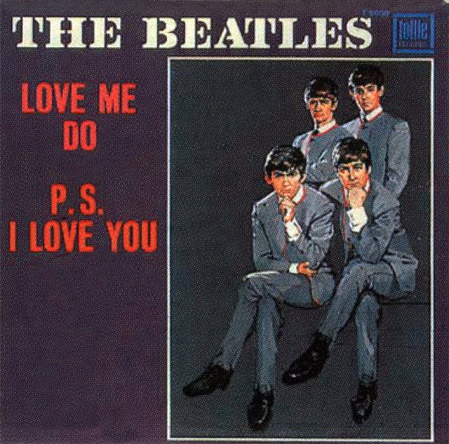 The Beatles PS I Love You I Want To Hold Your Hand