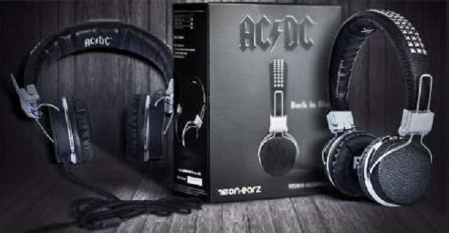 Empresa alemã lança fones de ouvido do AC/DC