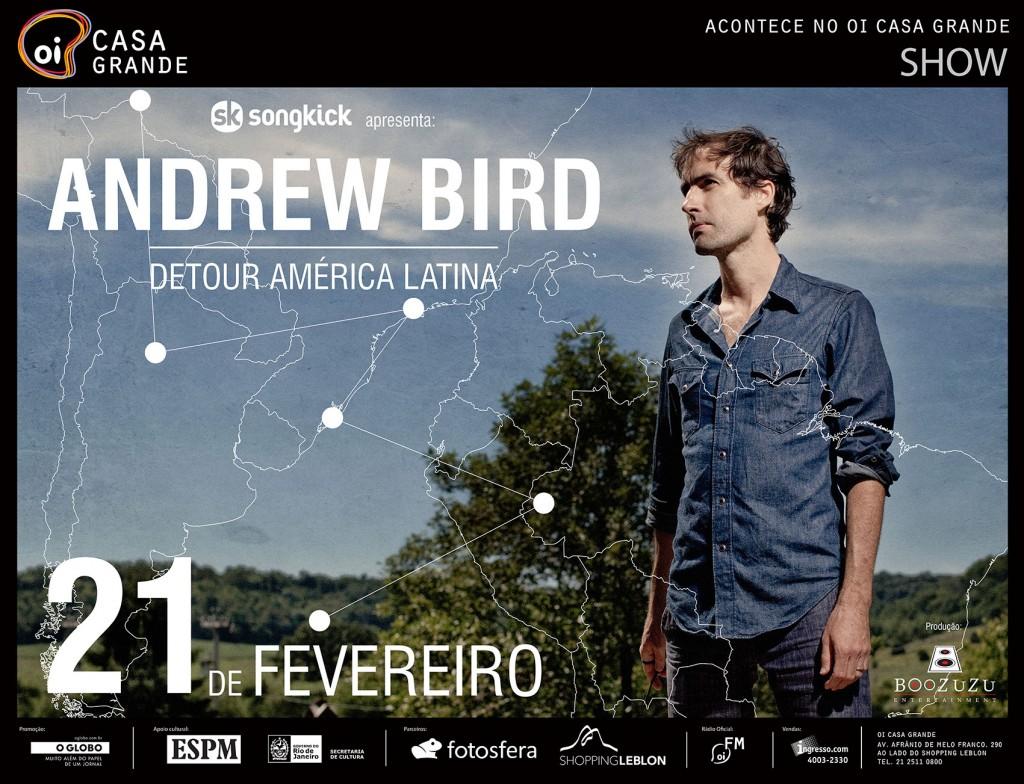 Show de Andrew Bird no RJ
