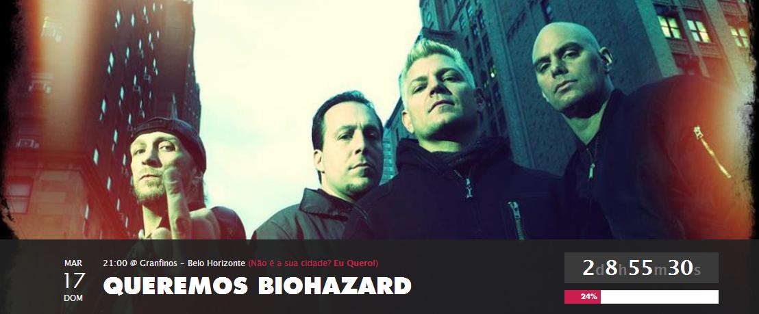 Biohazard em BH