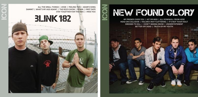 blink-182 e New Found Glory - ICON