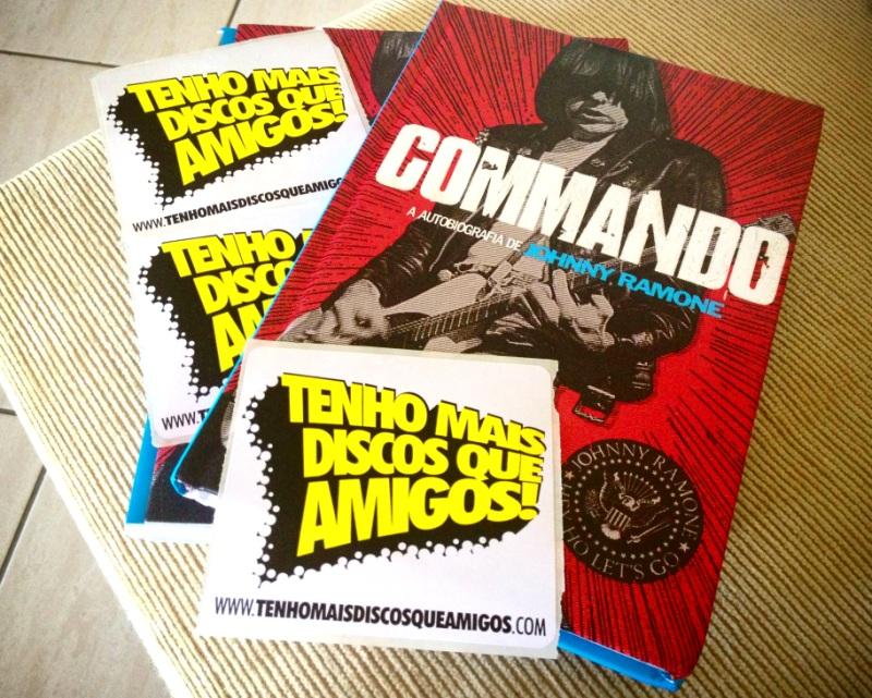 Promoção: COMMANDO - A Autobiografia de Johnny Ramone