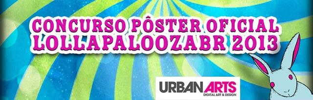 Crie o pôster oficial do Lollapalooza 2013