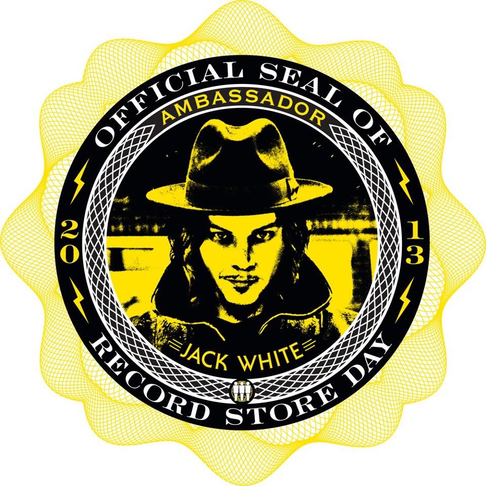 Jack White é o embaixador do Record Store Day 2013