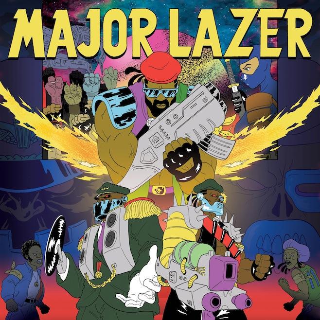 Major Lazer adia novamente o lançamento de Free The Universe