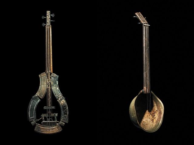 Artista mexiacano transforma armas em instrumentos