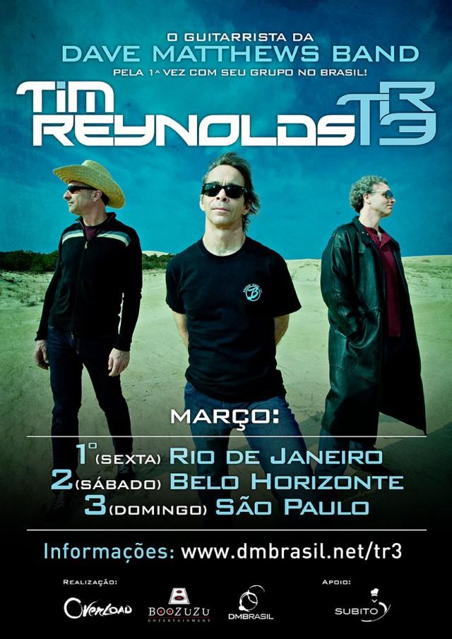 Tim Reynolds (Dave Matthews Band) no Brasil