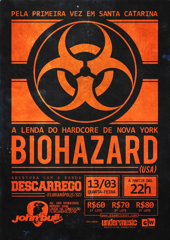Biohazard em Florianópolis