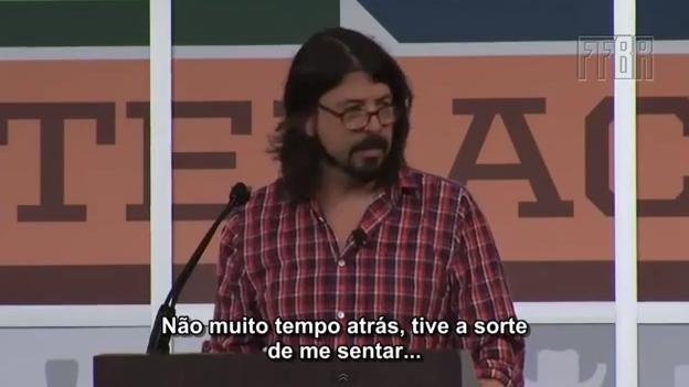 Dave Grohl no SXSW (vídeo legendado)
