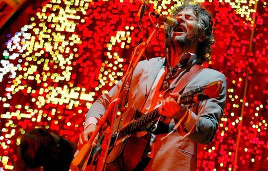 Flaming Lips toca novo disco em show