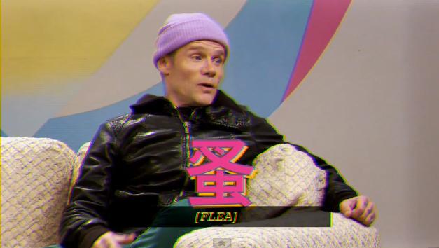 Flea, no Gorburguer Show