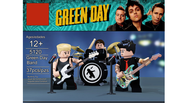 LEGO do Green Day
