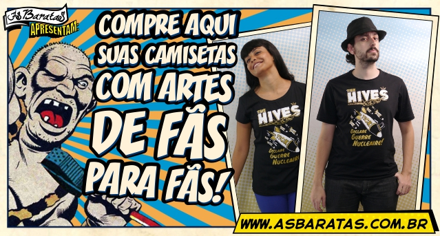 Camiseta do The Hives