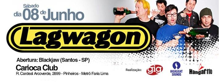 Lagwagon no Brasil
