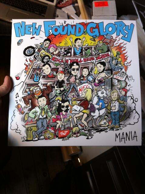New Found Glory - Mania (Record Store Day - Ramones)