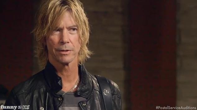 Duff McKagan tenta entrar no The Postal Service