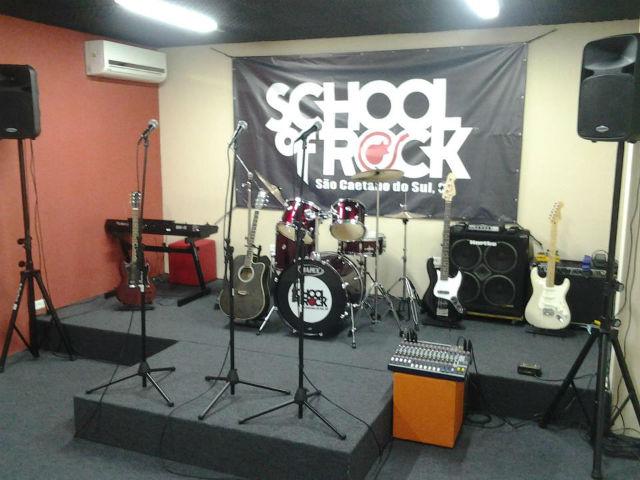 Brasil ganha franquia da Escola de Rock