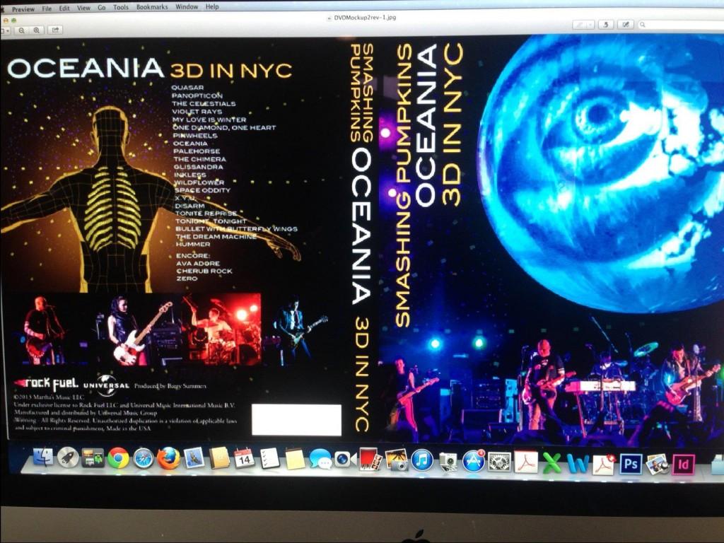 Smashing Pumpkins - Oceania 3D em Nova York