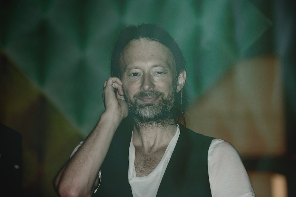 Thom Yorke apresenta músicas do Atoms for Peace