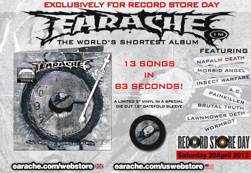 Álbum mais curto do mundo em disco de vinil