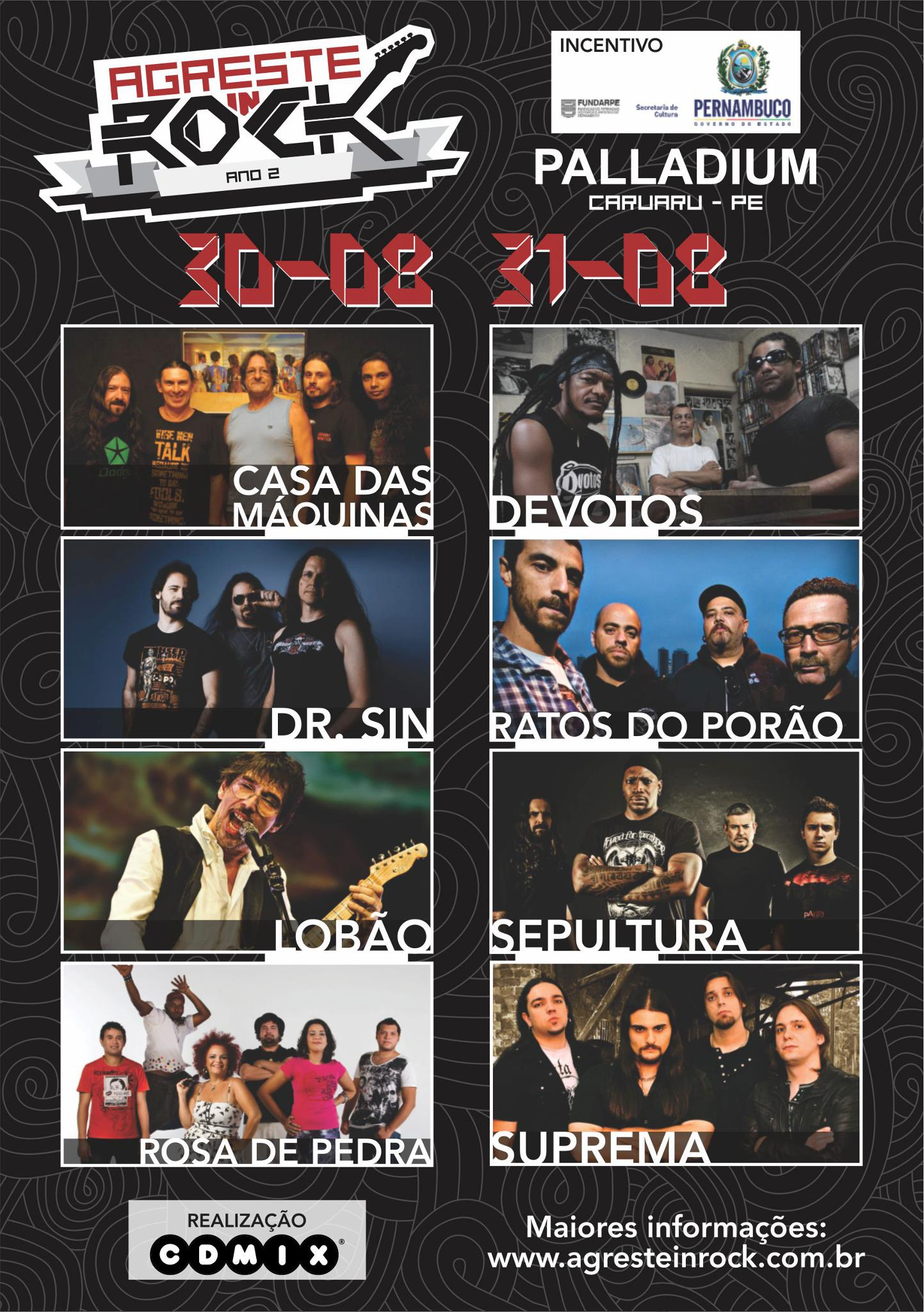 Agreste In Rock 2013